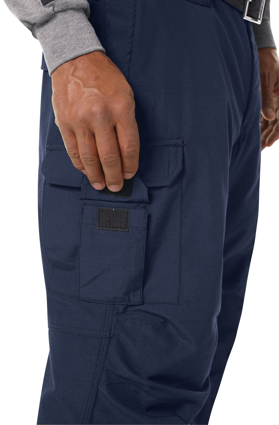 Bulwark FR Workrite Tactical Ripstop Pants FP40 Navy Example