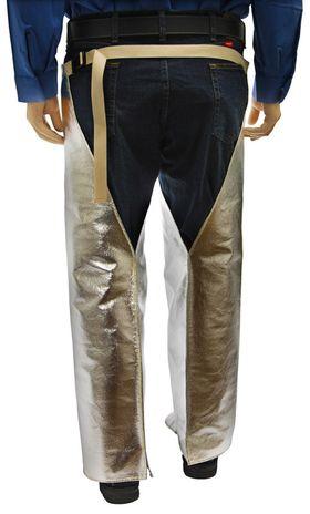 Otterlayer aluminized leggings waist joined back detail LH4-ACF