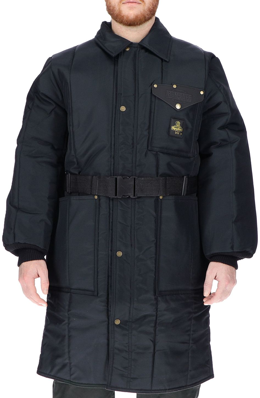 RefrigiWear 0341 Iron-Tuff Inspector Insulated Work Coat Knee Length Example