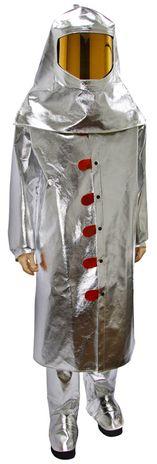 Otterlayer aluminized suit knee leggings 50 coat wide view hood C31-ACF