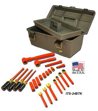 Cementex ITS-24BTK Battery Technician Kit, 24PC