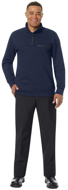 workrite-fr-job-shirt-ft71-1-4-zip-navy-example-front.jpg
