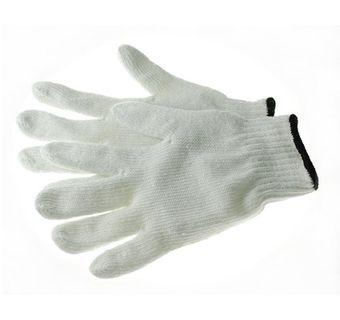 Phoenix HA0232 Work Gloves, 7ga Bleaached Cotton/Polyester