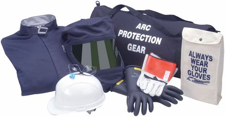 HRC 2 Arc Flash Kit with 20 Calorie Coverall