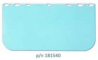 MCR Safety Crews Clear Polycarbonate Visors 181540