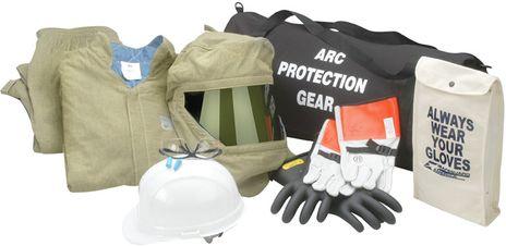 HRC Level 4 Arc Flash Suit Kit - Chicago Protective Master Series