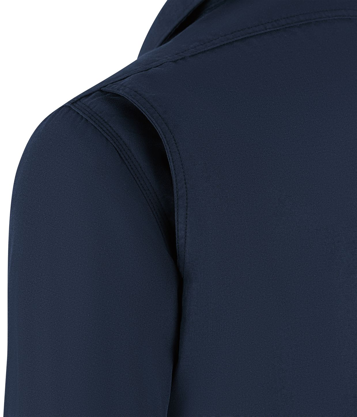 Workrite FR Shirt Jacket FST2, Ripstop, Tactical Navy Example