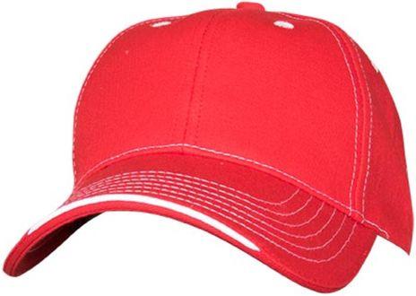 RefrigiWear 6197 Structured Cap Dozen Red