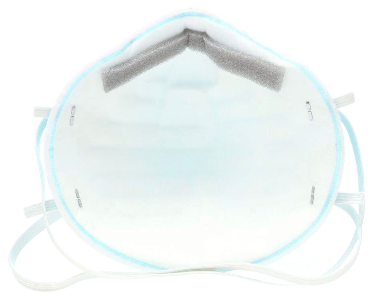 3M Surgical Particulate Respirator 1860S - N95 Back