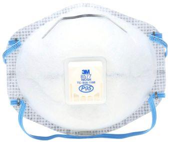 3M Disposable Respirators 8577 - P95 Front
