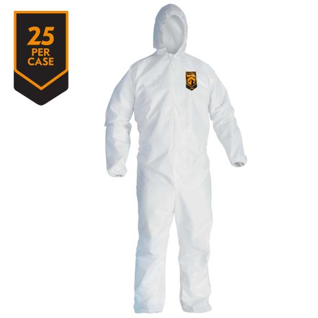 Kimberly Clark Kleenguard Hooded Coverall A40 Liquid & Particle Front
