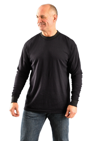 Occunomix LUX-LSTFR Flame Resistant Long Sleeve T-Shirt