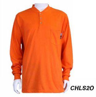 Cementex CHLS2 8.9Cal Henley FR Shirt