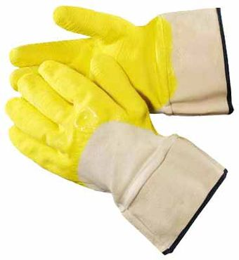 Heavy Duty Latex Dipped Gloves HD3411