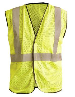 Occunomix Class 2 LUX-SSGC Mesh Standard Hi-Viz Vest Yellow