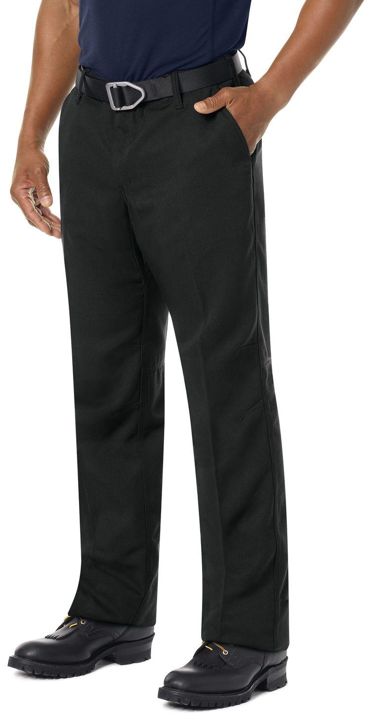 Workrite FR Pants FP30 Wildland Dual-Compliant Uniform Black Example Left