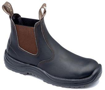 Blundstone 490 xTreme Safety Elastic Side Slip-On Boots - Fire Station Boots - Fire Station Boots