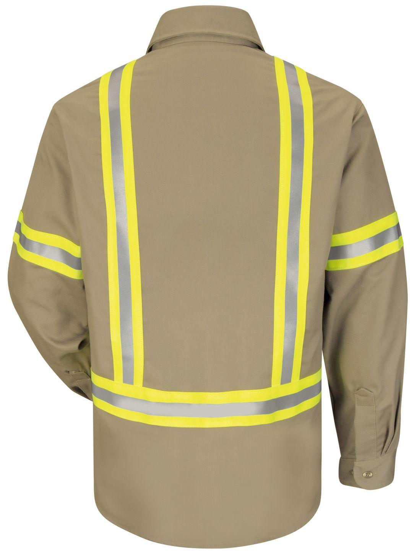 bulwark-fr-shirt-sldt-midweight-enhanced-visibility-uniform-khaki-back.jpg