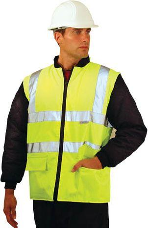 Hi Vis Rain Jacket Vest Conversion - Occunomix Occulux LUX-TJFS