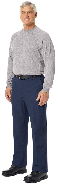 workrite-fr-long-sleeve-ft40-station-wear-tee-athletic-style-heather-grey-example-left.jpg