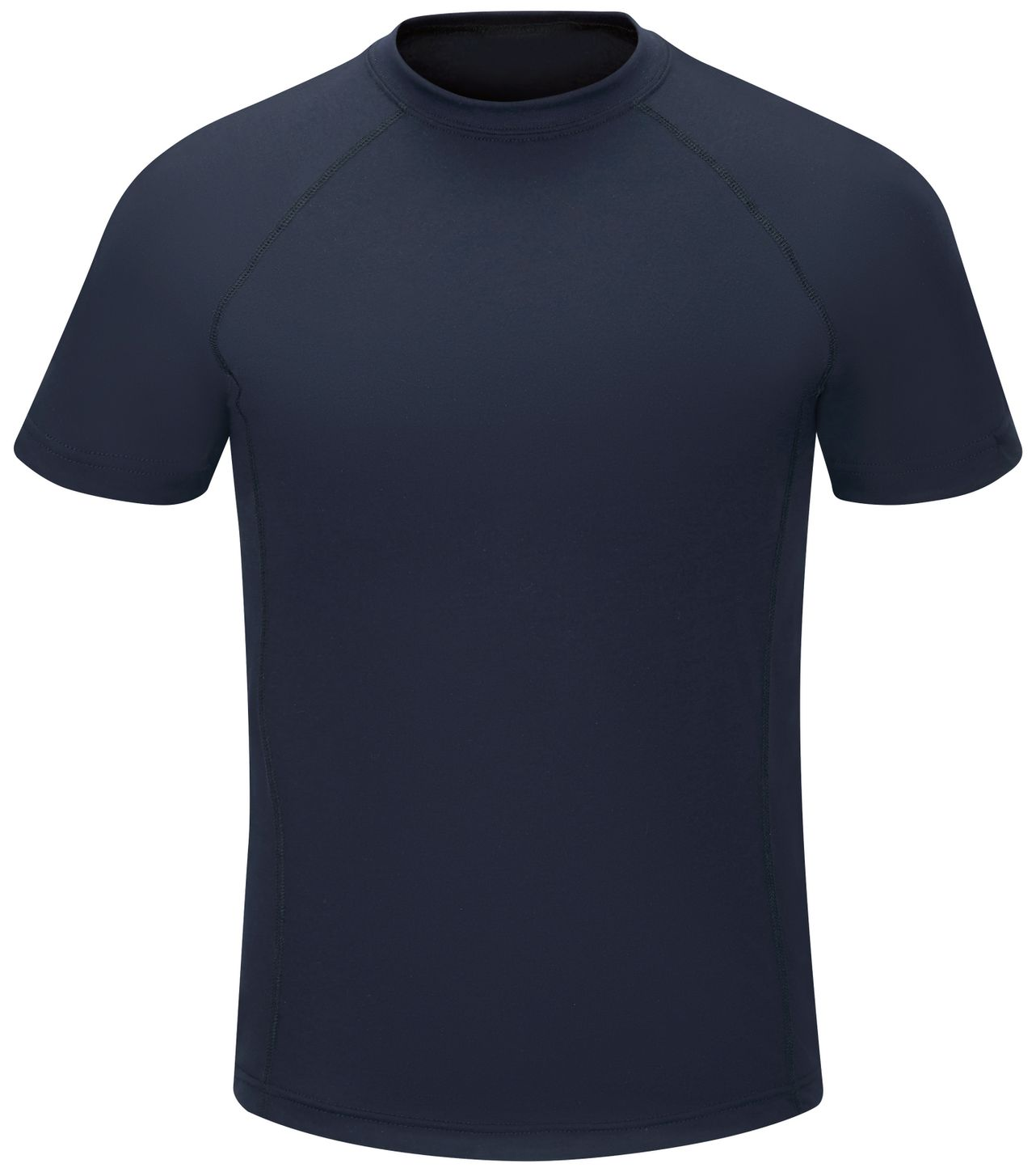Workrite FR Station Wear Tee FT36, Base Layer, Athletic Style Navy Front