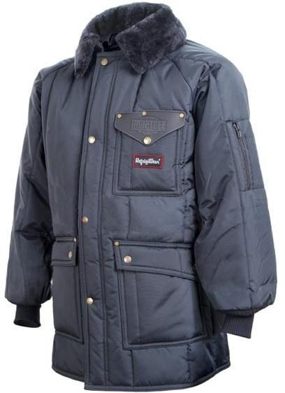 RefrigiWear Cold Weather Apparel - Iron-Tuff™ Siberian™ 0358 - Navy