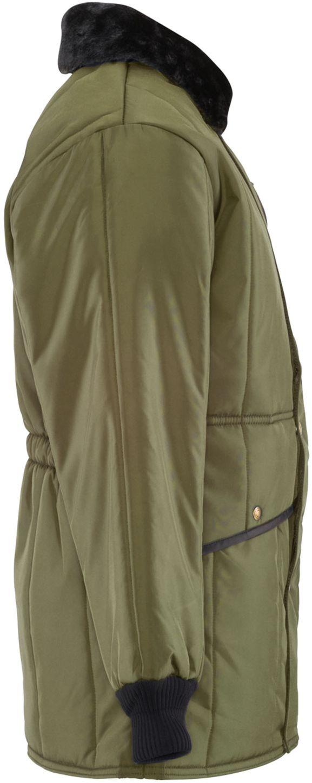 RefrigiWear 0342 Iron-Tuff Jackoat Cold Weather Work Coat Sage Right Side