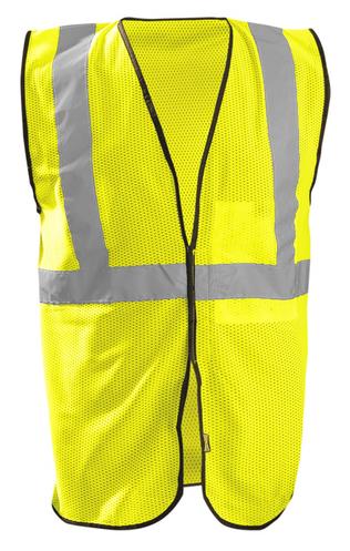 Occunomix ECO-GC Mesh Standard Hi-Viz Vest Front Yellow