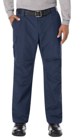 Bulwark FR Workrite Tactical Ripstop Pants FP40 Navy Example Front