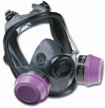 North Safety 5400-Series Respirator Full Face Mask 54001