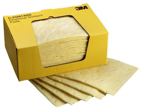 3M Chemical Sorbent Pads - High Capacity C-PD914DD
