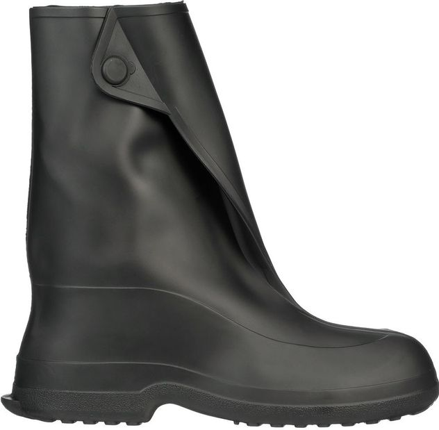"""Tingley 1400 Natural Rubber Overboots - 10"""" Tall, Waterproof Side"""