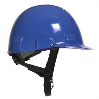 Bullard A2 High Impact Polycarbonate Alloy Ratchet Blue Hard Hat