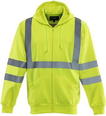 RefrigiWear 0484 HiVis Work Sweatshirt Front
