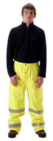 nasco envisage yellow hi viz premium breathable rain pants