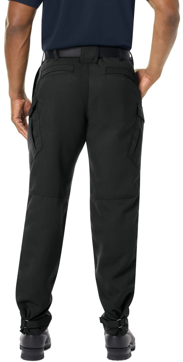 Workrite FR Pants FP62 Wildland Dual-Compliant Tactical Midnight Navy Black Example Back
