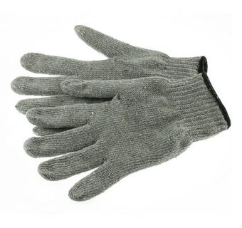 Phoenix HA0242 Working Gloves, 7ga Grey Cotton/Polyester