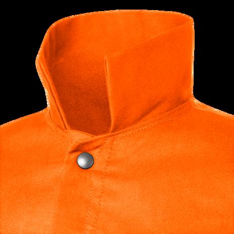 """Steiner Weldlite Flame Retardant Jacket Cotton 30"""" 1040 Collar"""