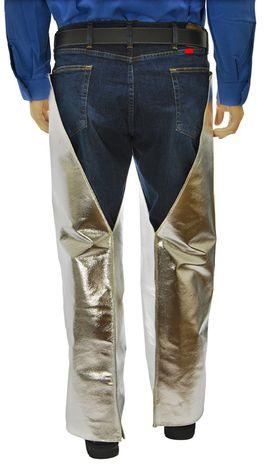 Otterlayer aluminized leggings hip back detail LV4-ACF