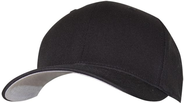 RefrigiWear 6196 Fitted Cotton Blend Cap Dozen Black