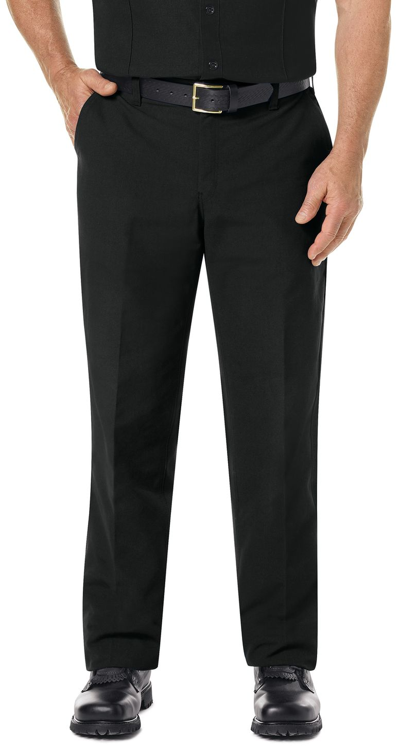 Workrite FR Pants FP52 Classic Firefighter Black Example Front