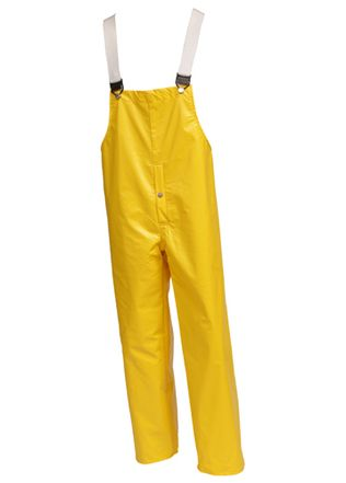 "Tingley ""American"" PVC Coated Work Overalls O32107 - Yellow, with Snap Fly Front"