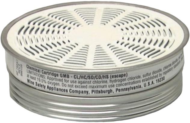 MSA 464032 Acid Gas Comfo Cartridge