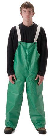 nasco acidbasic chemical resistant waterproof bib pants