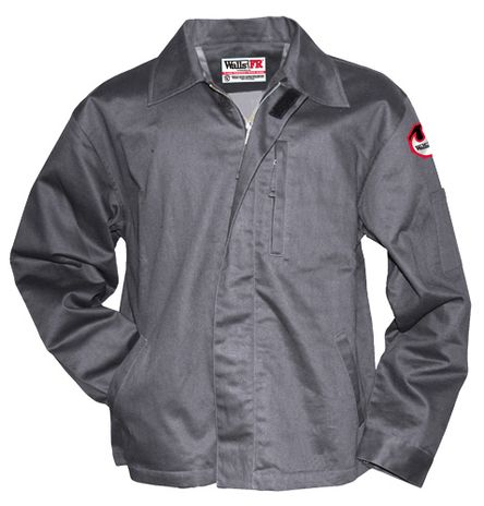 Gray Color Arc Flash Jacket