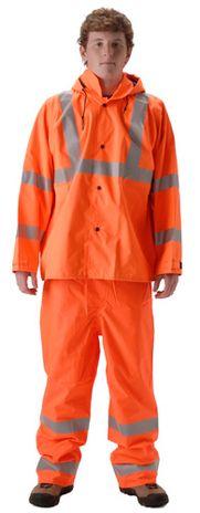 nasco envisage orange premium hi vis rain suit