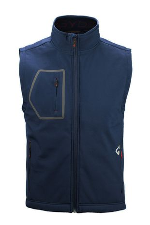 Gyde Supply G1V71503 Heated Torrid Shell Vest, Men's