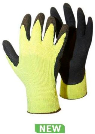 RefrigiWear Cold Weather Apparel - Cut Resistant HiVis ErgoGrip Gloves 1407
