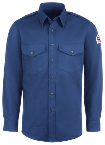 bulwark-fr-shirt-ses2-midweight-excel-snap-front-uniform-royal-blue-front.jpg