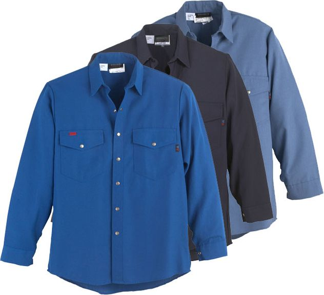 Workrite Flame Retardant Shirt 220NX45/2204 - 4.5 oz Nomex® IIIA, Long Sleeve, Western-Style
